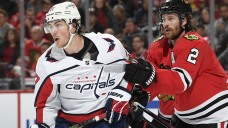 Blackhawks Fall to Capitals, Spoiling Kirby Dach's Debut