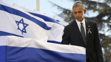 'Great Man': Obama Clinton Pay Tribute to Shimon Peres