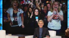 Ellen DeGeneres Surprises Cubs Fans in Chicago