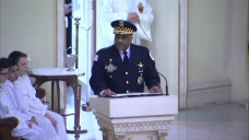 'I Just Want to Say Thank You': Supt. Johnson Speaks at Cmdr. Bauer's Funeral