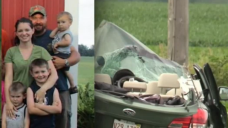 Mother in Beecher Crash Was Pregnant; 2 Sons on Life Support