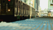 CTA Train Service Temporarily Suspended Due to Incident