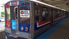 CTA to Run Vintage Cubs Car Before Home World Series Games