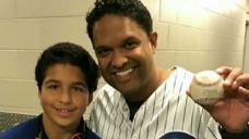 Father, Son Win World Series Tickets After Catching Homer