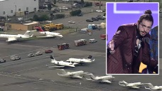 'Not Today': Post Malone's Jet Lands After NJ Takeoff Scare