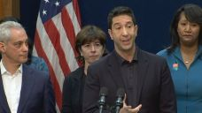 Schwimmer Teams Up With Chicago Officials on Sex Harassment