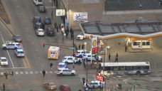 Teen Riding in Bus Among 2 Shot After Gas Station Fight: CPD