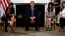Families, Students from School Shooting Address Trump