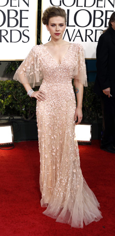Golden Globes: Red Carpet 2011