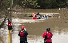 5 Rescued From Flooded Golf Course in Northern California