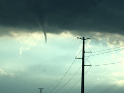 Stunning Photos Show Funnel Cloud Near Ottawa Tuesday