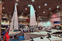 Strictly Sail Show Docks at Navy Pier
