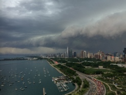 Strong Storms Hit Chicago Area