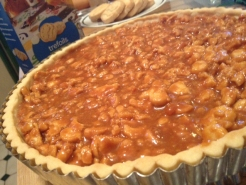 Wayne's Weekend: Caramel Tart with Cookie Crust