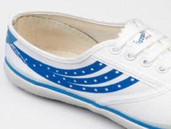 Warrior Dot Sneakers
