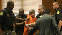 Kalamazoo Shooting Suspect Dragged From Court After Outburst