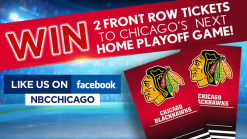 Win Tickets to Chicago Blackhawks' Next Home Playoff Game