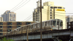 Pink Line Trains Suspended on West Side