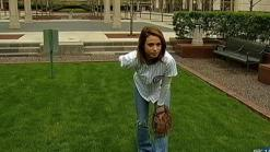 Cheryl Scott Preps for First Pitch