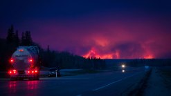 Alberta Wildfire Grows to 85,000 Hectares in Size