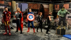 """Jeremy Renner Spoofs """"The Avengers"""" and Sings on """"Saturday Night Live"""""""