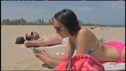 Chicagoans Enjoy Instant Summer