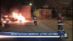 Multiple Cars Set on Fire Overnight in West Lawn