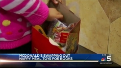 McDonald's Trades Toys for Books Temporarily
