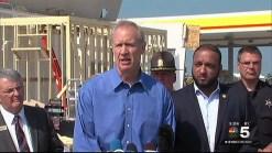 Governor Rauner Tours Tornado Damage in Pontiac