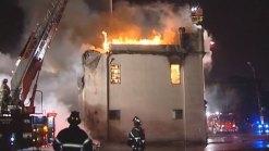 Fire Destroys Lyons Landmark