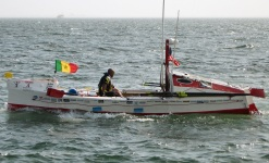 NYC Man Completes Atlantic Paddle for AIDS Awareness