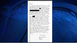 Letters Handwritten by Hernandez Found