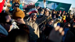 Activists Protest North Dakota Pipeline at Standing Rock