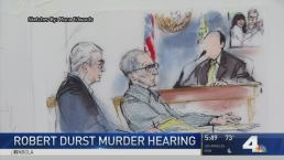 Awaiting Secret Witness in Durst Trial