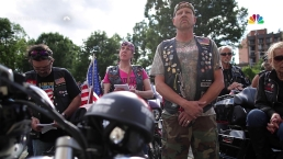 Bikers Gather for National Cathedral's 'Blessing of the Bikes'