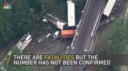 Multiple Casualties in Washington State Derailment