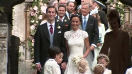 WATCH: Pippa Middleton Post-Wedding Kiss