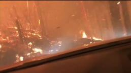 Father and Son Narrowly Escape Montana Forest Fire