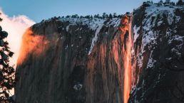 Breathtaking 'Firefall' Lights Up Yosemite National Park