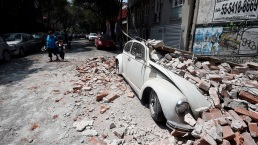 Photos: Mexico Hit by Powerful Quake for Second Time