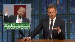 'Late Night': A Closer Look at Trump's NFL 'Knee' Comments