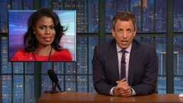 'Late Night': A Closer Look at Omarosa, Giuliani Causing Problems for Trump