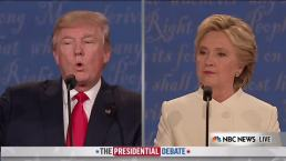 Trump to Clinton: You Have 'Bad Experience'<br />