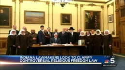 Ind. Lawmakers Face Backlash Over Religious Freedom Law