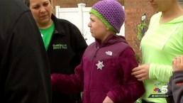 Girl Battling Cancer Has Block Named in Her Honor