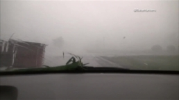 Storm Chaser Captures Frightening Look Inside a Tornado