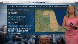 Forecast: Dangerous Heat This Weekend