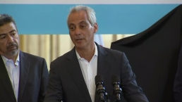 Emanuel Stops Speech to Blast Trump, Border Separations