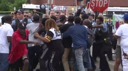 Scuffle Takes Place After Shooting