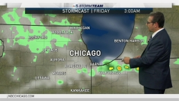 Chicago Weather: Breezy, Hot and Humid